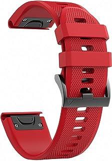 comprar comparacion NotoCity Garmin Fenix 5X Banda Fácil de Ajuste 26 mm Ancho Suave Silicona Correa de Reloj para Garmin Fenix 5X/Fenix 3/Fen...