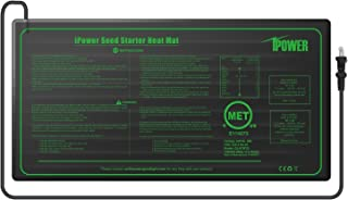 iPower GLHTMTS Durable Waterproof Seedling Mat 10