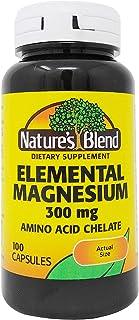 Elemental Magnesium Amino Acid Chelate 300 mg 100 Caps