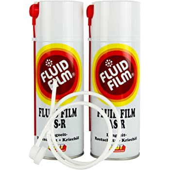 2 X Fluid Film As R Rust Protection Corrosion Protection Cavity Protection 400 Ml Probe Auto