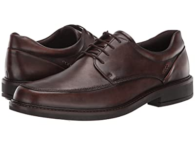 ECCO Holton Apron Toe Tie (Cocoa Brown) Men