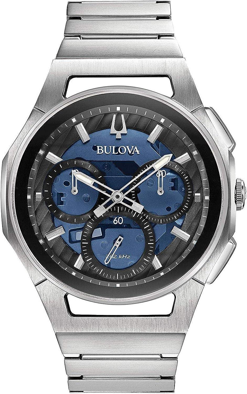 Bulova Reloj Cronógrafo para Hombre de Cuarzo con Correa en Acero Inoxidable 96A205