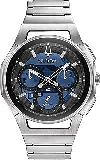 Bulova - Reloj Cronógrafo para Hombre de Cuarzo con Correa en Acero Inoxidable 96A205