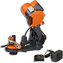 SuperHandy Chainsaw Sharpener Grinder Work Bench or Wall Mounted Portable Cordless 18V DC..