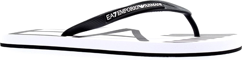 Emporio Armani EA7 Men flip Flops Bianco