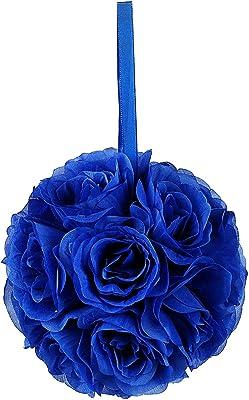 Party Spin Pomander Flower Balls Wedding Centerpiece 6 Inch Royal Blue Home Kitchen