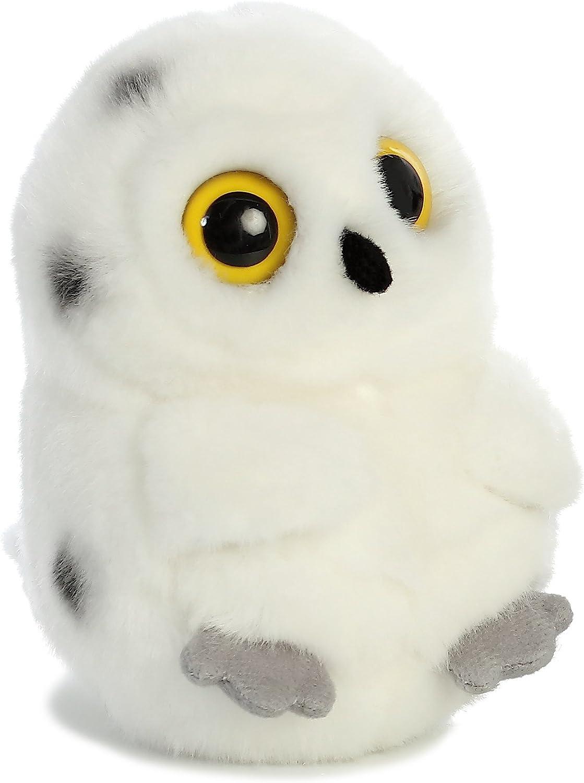 "Aurora - Rolly Pet - 5"" Hoot Owl - White"