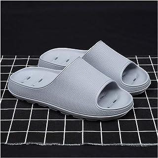 YAOLUU Summer Slippers Zapatillas de Paso para el hogar Summer Net Celebrity Home Aumentar Sandalias y Zapatillas Sandalia...
