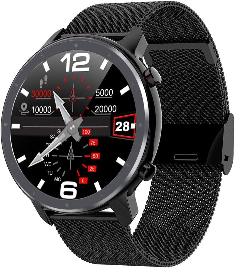ZYD Reloj Elegante L11 ECG Monitor de Ritmo cardíaco del Bluetooth IP68 identificador de Llamadas El Tiempo de visualización de música Control de la Aptitud del Deporte Hombres Mujeres