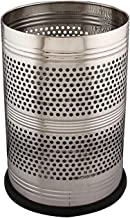 Kuber Industries Stainless Steel Garbage Dustbin, 5 litres, Silver