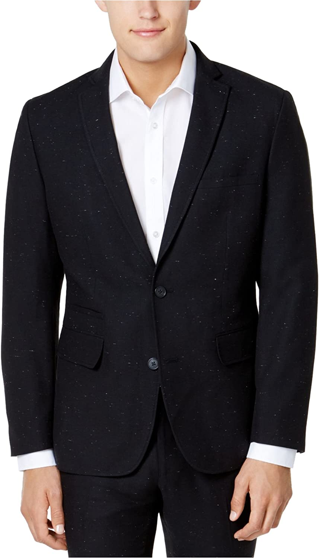 I-N-C Mens Nepped Two Button Blazer Jacket