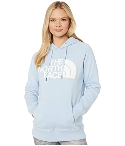 The North Face Half Dome Pullover Hoodie (Angel Falls Blue) Women
