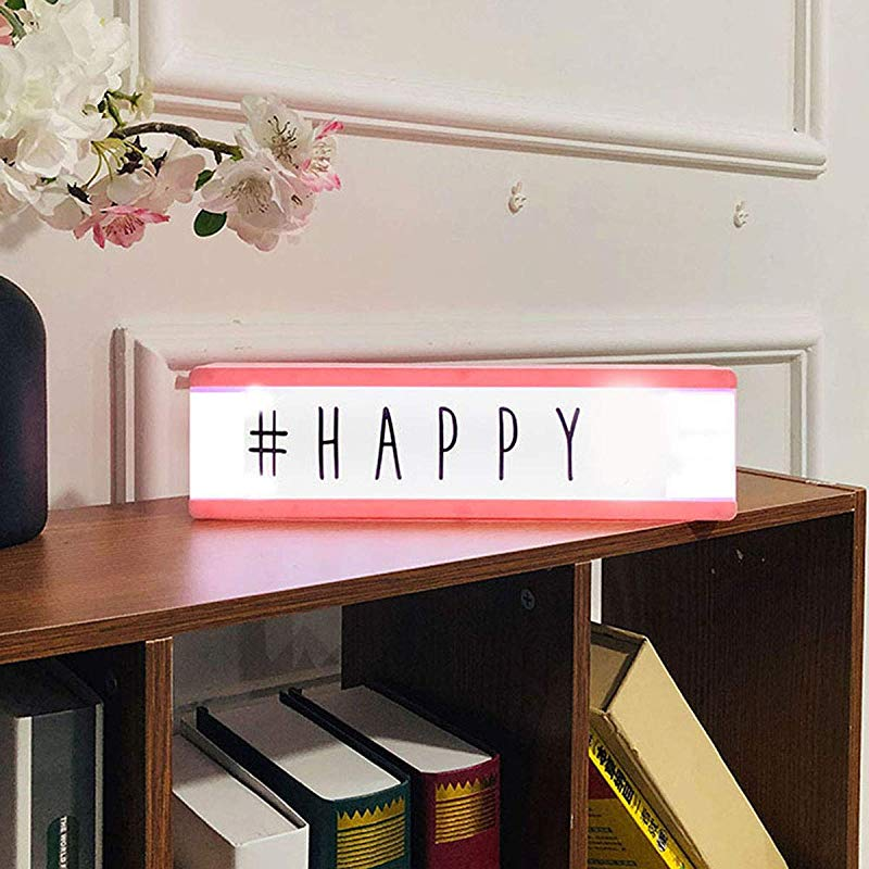Esonbuy Letter Puzzle LED Light Box Home Decoration Marriage Presentation Props Valentine S Day Birthday Gift