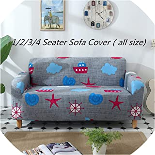 Slipcover Floral Pattern Universal Sofa Covers al Throw Couch Corner Cover Cases for niture Armchairs Home Decor,Green,Single Seat