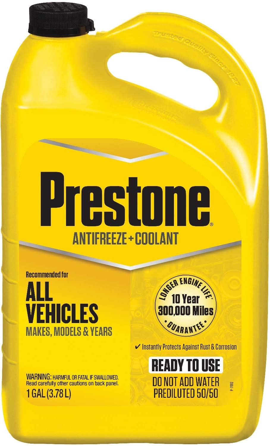 Don't miss the campaign Prestone 5% OFF AF2100-6PK Extended Life 50 Gallon 1 Antifreeze -