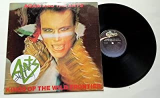 Adam Ant REAL hand SIGNED Kings Of The Wild Frontier Vinyl #2 COA The Ants