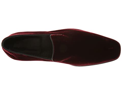 Massimo Matteo Velvet On BlackBurgundy Slip ZwZa1q0rT