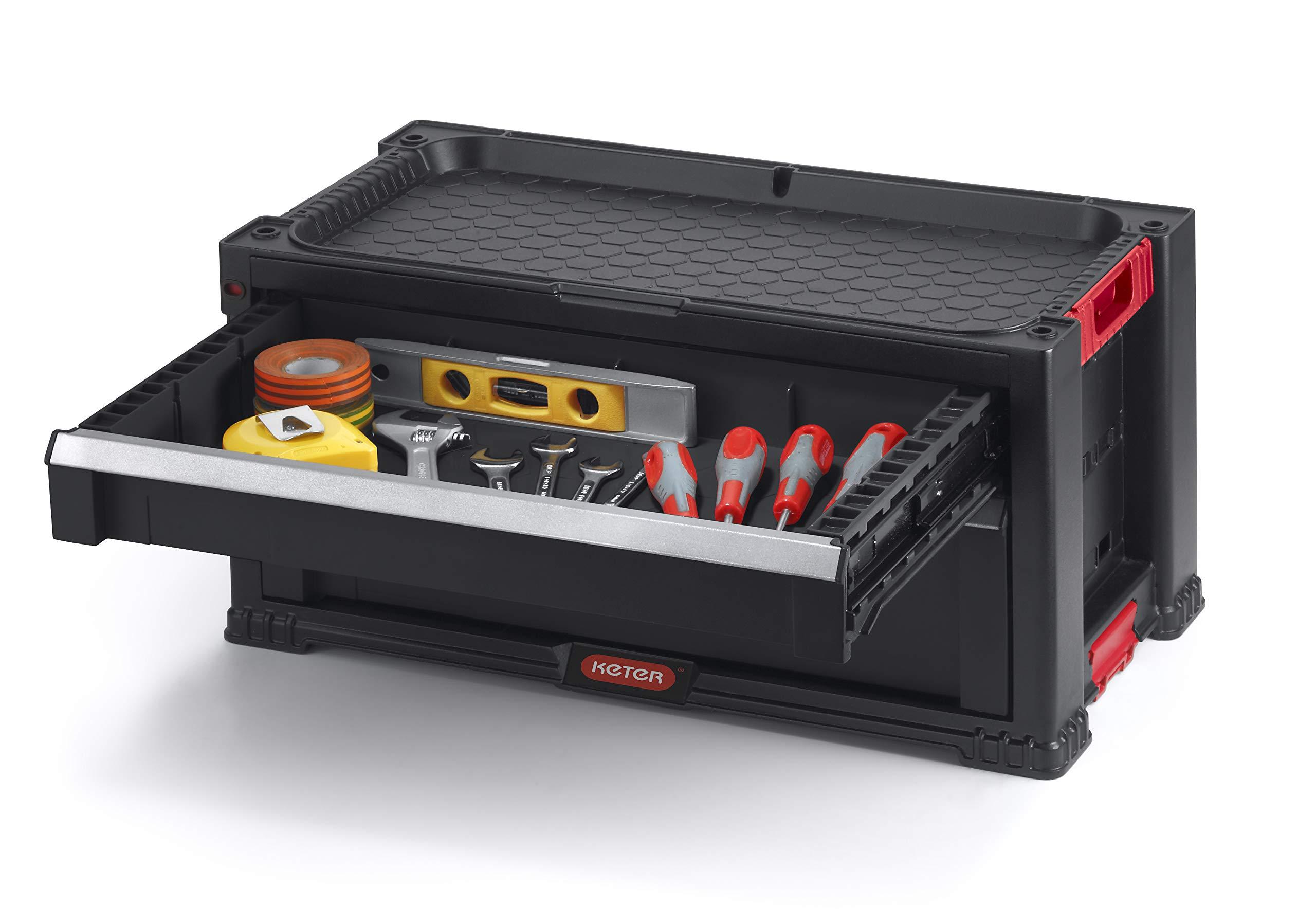 Keter 238557 Carro de herramientas 7/cajones 60/x 38/x 83/cm