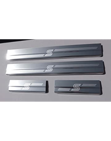 Stainless Steel Door Guard Pedal Cover Protector Scuff Plate Protection Trim Sticker Styling Accessories Gemmry 4PCS Car Door Sill Kick Plates Pedal for Suzuki Vitara 2015-2020