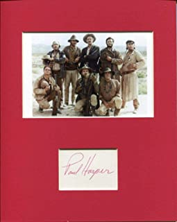 Paul Harper The Wild Bunch Ross Rare Signed Autograph Photo Display