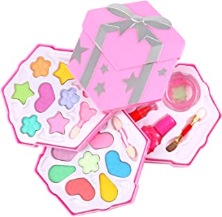 Make up for Kids Girls Make up Kits for Little Girls Kids Makeup kit for Girl Non Toxic Little Cosmetics Pretend Makeup Darling Set Makeup Pretend Play Set Princess Makeup Set Washable
