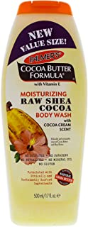 Palmer's Moisturizing Raw Shea Cocoa Butter Body Wash, 17 Ounce