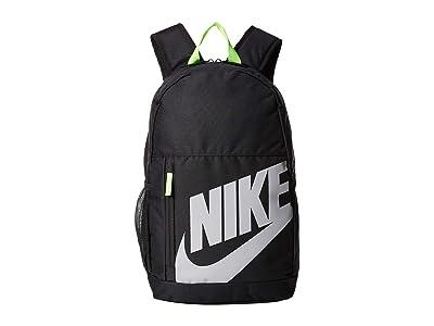 Nike Kids Elemental Backpack (Little Kids/Big Kids) (Black/Black/Atmosphere Grey) Backpack Bags