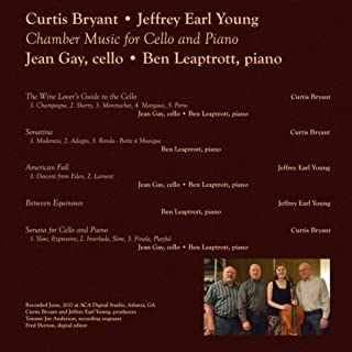 Chamber Music for Cello and Piano