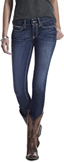 ARIAT Women's R.E.A.L. Mid Rise Skinny Jean