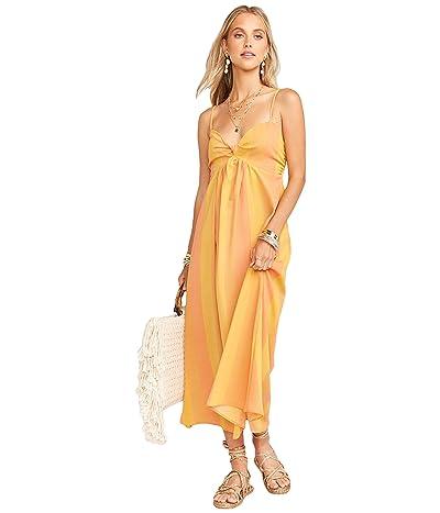 Show Me Your Mumu Magnolia Midi Dress (Sunkissed Stripe) Women