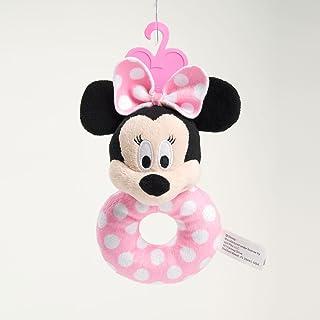 Disney Minnie Mouse ~ Plush Shake Me Round Rattle