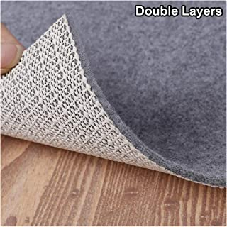 Enjoy Holiday 1981 Non Slip Pad Rug Grippers - 10×14 Feet Double Layers Area Carpet Mat Tap, Provides Protection and Cushioning for Hardwood or Tile Floors