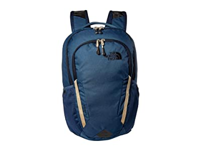The North Face Vault Backpack (Blue Wing Teal/Twill Beige) Backpack Bags