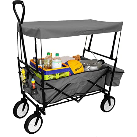 /en m/étal//noir Pavo 8001040/Premium pliable chariot de transport/