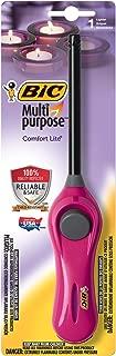 BIC Multi-Purpose Comfort Lite Lighter, Assorted Colors, 1-Pack
