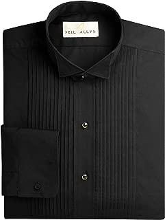 Neil Allyn Men's Black Wing Collar 1/4