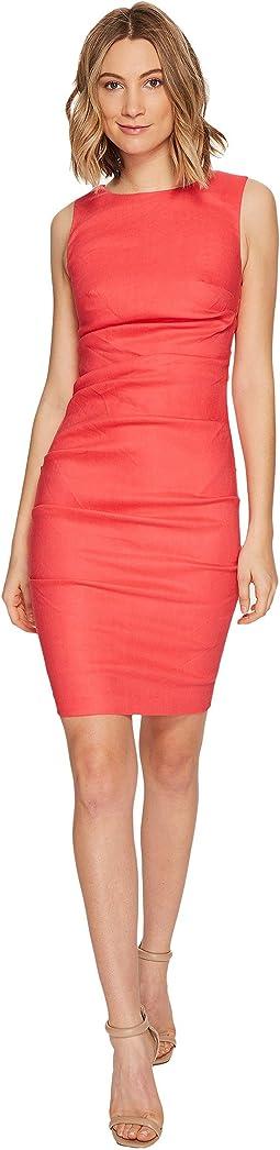 Nicole Miller - Lauren Stretch Linen Dress