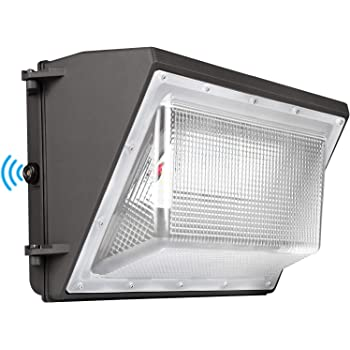 LED Wall Pack Light 120W 5000K with Dusk-to-Dawn photocell 16200lm Wall Pack Light Commercial 600W HPS/HID Equivalent