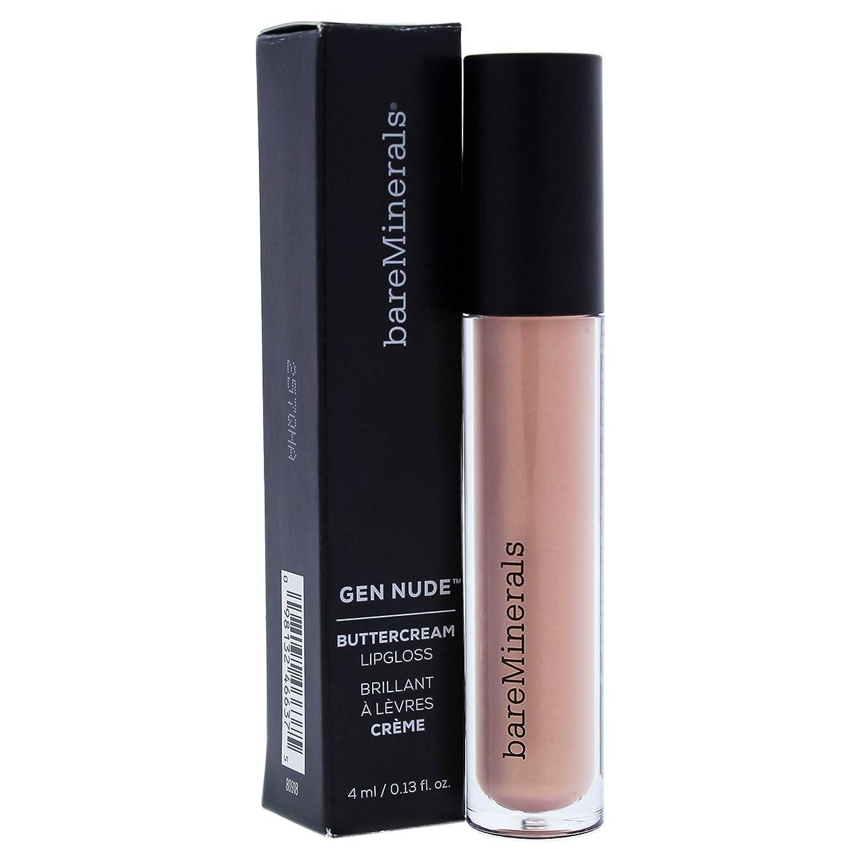 狂乱溶けた不測の事態ベアミネラル Gen Nude Buttercream Lipgloss - Far Out 4ml/0.13oz並行輸入品