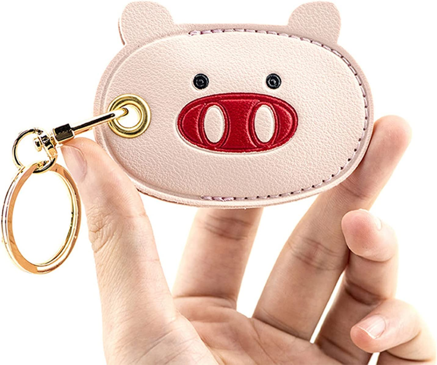 Cute Anti-Lost Case for AirTag,2021 New Protective Case Cover with Keychain Ring Designed,Safety Airtag Tracking Locator Anti-Lost Tracker Finder Protector (A1)