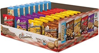 36-Count Grandmas Cookies Variety Pack