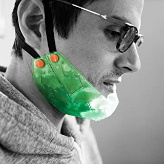 KOOL'N FX Hot & Cold Therapy, Reusable Jaw & Chin Gel Pack with Adjustable Straps - Great for Pain Relief for TMJ, TMD, Wisdom Teeth, Dental Implants, Facial Surgery & More