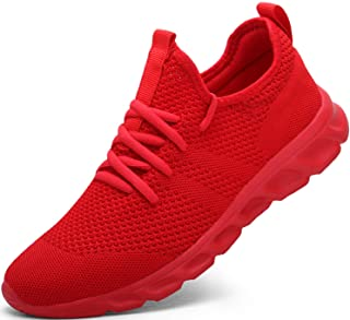 Damyuan Mens Running Walking Tennis Trainers Casual Gym Athletic Fitness Sport Shoes Fashion Sneakers Ligthweight Comforta...