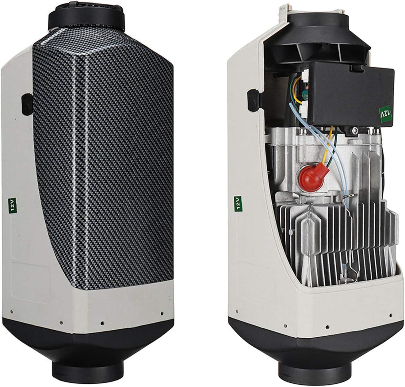OneV FT 12 V Calefacci/ón de aire de estacionamiento para di/ésel 12 V, 8 kW, con mando a distancia, LCD, di/ésel, para coche//pickup//camiones