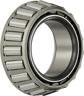 Timken LM48548A Tapered Roller Bearing, Single Cone, Standard Tolerance, Straight Bore, Steel, Inch, 1.3750