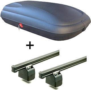 Aluminium Roof Bars Menabo Tema TOYOTA AYGO I 2005-2014 HATCH 5 Door