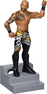 WWE Wrekkin' 6-inch Action Figure with Pull-Back Activated Move Like Slamming, Punching or Kicking, Lock Tight Grip & Wreckable Accessory