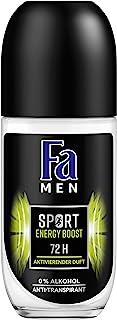 FA Men Energy Boost dezodorant w kulce, 6 sztuk w opakowaniu (6 x 50 ml)