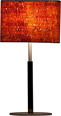 "ZiqiHome Fashions ZH-TL010GLD ZiqiHome Ethan Table Lamp, 11"" x 7"" x 21"""