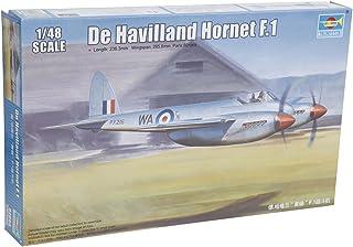 トランペッター 1/48 デ・ハビランド ホーネット F.1 プラモデル